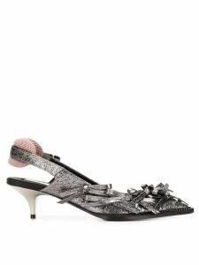 Nº21 kitten heel pumps - Grey