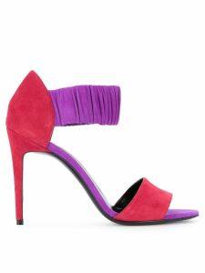 Pierre Hardy colour block sandals - Pink