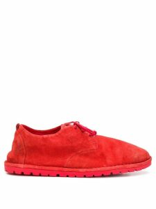 Marsèll Marsèll x Andreas Murkudis Sancrispa lace-up shoes - Red