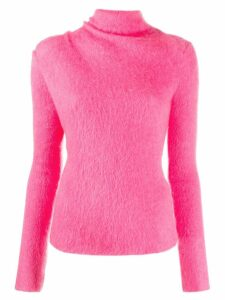 MRZ roll neck jumper - PINK