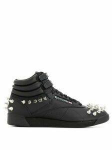Junya Watanabe Junya Watanabe x Reebok studded hi-top sneakers - Black