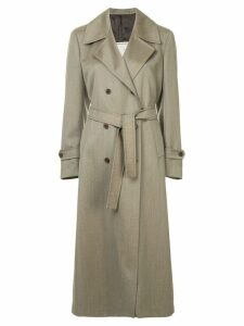 Giuliva Heritage Collection belted double-breasted coat - Brown