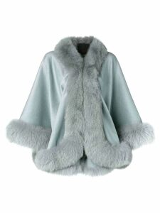 Liska cashmere flared coat - Grey