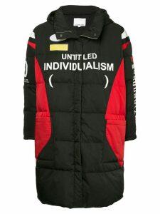 Ground Zero zipped padded coat - Black