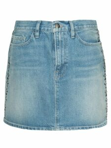 FRAME Le Mini skirt - Blue