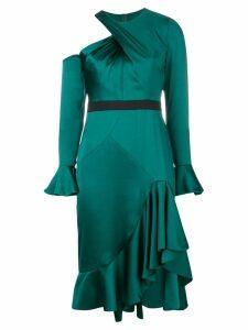 Three Floor Ariel one-shoulder dress - Green