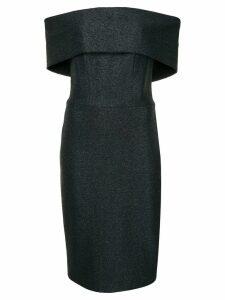 Manning Cartell fitted off shoulder dress - Blue