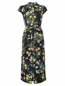 Erdem floral-print dress - Black