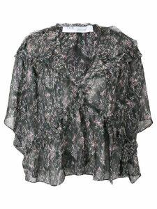 IRO Date ruffle blouse - Black