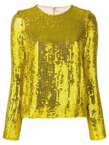 Galvan Clara top - Yellow