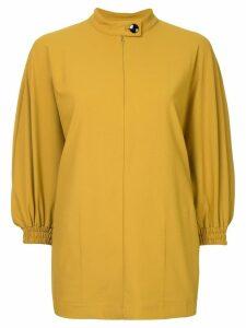 08Sircus band collar blouse - Yellow
