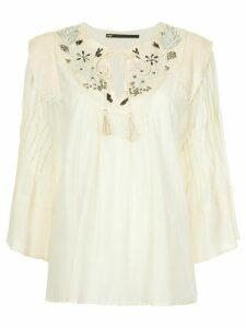 Muller Of Yoshiokubo Embroidery blouse - White