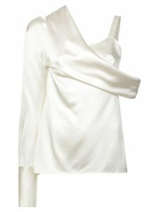 Monse one shoulder blouse - White