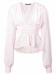 Alexa Chung smock blouse - Pink