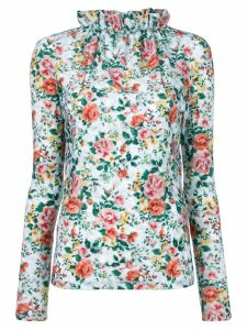 Golden Goose floral print blouse - Blue
