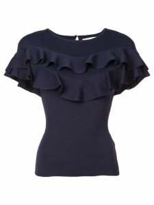 Sachin & Babi Vania flared blouse - Blue