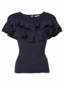 Sachin & Babi Vania flared blouse - Blue