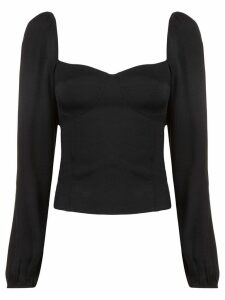 Reformation Reign long-sleeved top - Black