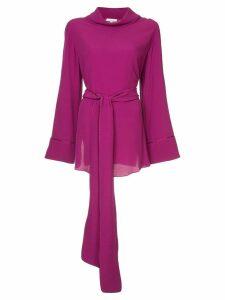 Layeur Barbara slouch collar blouse - Purple