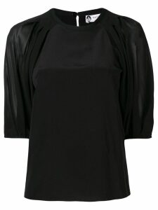 LANVIN short sleeved blouse - Black