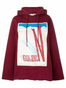 Golden Goose oversized Furka hoodie - Red