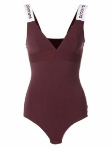 Paco Rabanne fitted bodysuit - Red