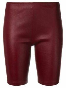 Manokhi cycling shorts - Red