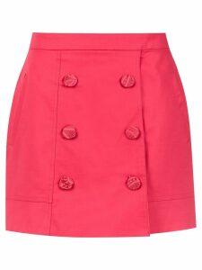 Martha Medeiros high waisted mini skirt - PINK
