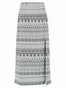 Framed Gipsy midi skirt - Grey