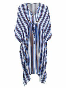 Tufi Duek striped tunic dress - Blue