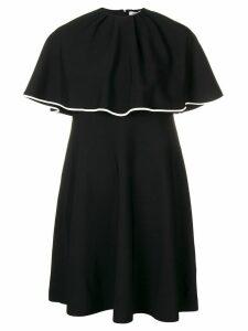 Valentino cape dress - Black