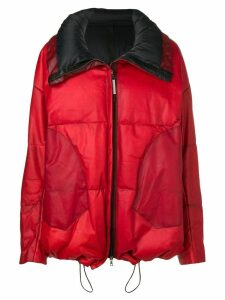 Isaac Sellam Experience puffer jacket - Red