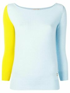 Emilio Pucci Colourblock Cashmere Jumper - Blue