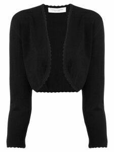 Carolina Herrera cropped bolero - Black
