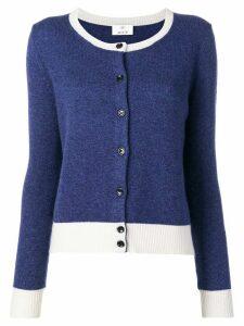 Allude colour-block cardigan - Blue