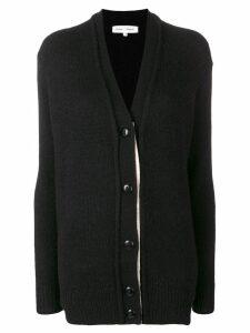 Proenza Schouler contrast button cardigan - Black