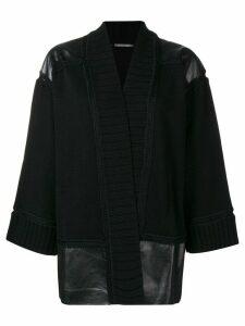 Alberta Ferretti open front cardigan - Black