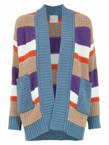 Framed Nkit knitted cardigan - Multicolour
