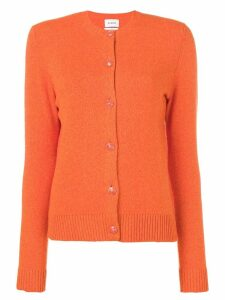 Barrie crew neck cardigan - Orange