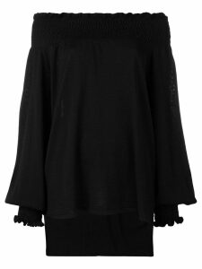 Laneus off the shoulder jumper - Black