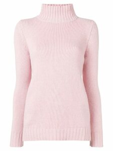 Aragona turtle neck jumper - PINK