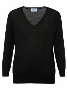 Prada V-neck sweater - Black