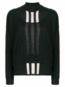 Y-3 layered jumper - Black
