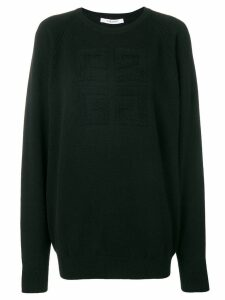 Givenchy basic logo jumper - Black