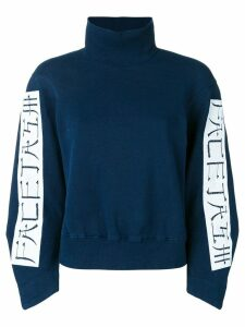 Facetasm high neck jumper - Blue