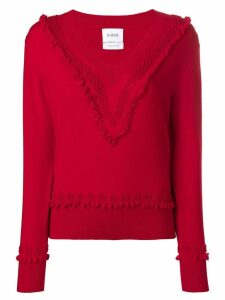 Barrie cashmere sweater - Red