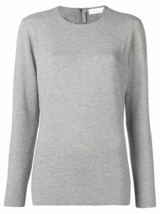 Fabiana Filippi crew neck sweater - Grey
