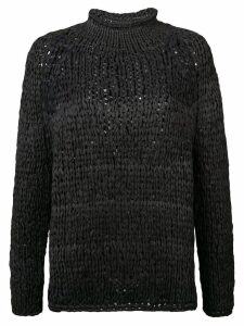 Casey Casey turtleneck jumper - Black