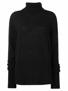 Ann Demeulemeester turtleneck sweater - Black