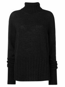 Ann Demeulemeester turtleneck sweater - Black